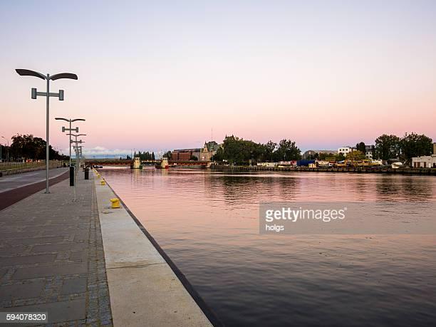 Oder Fluss aus Szczecin, Polen