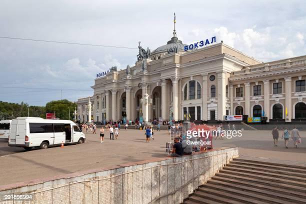 odesa holovna railway terminal - gwengoat stockfoto's en -beelden