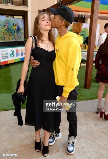 Odessa Adlon and Jaden Smith attend the 28th Annual Environmental Media Awards at Montage Beverly Hills on May 22 2018 in Beverly Hills California