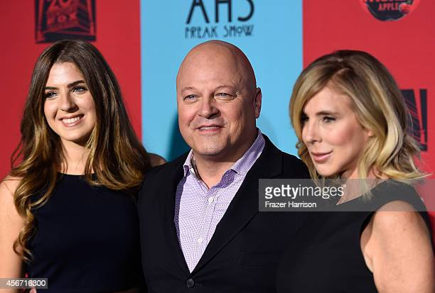 Odessa Chiklis actor Michael Chiklis and Michelle Moran attend FX's American Horror Story Freak Show premiere screening at TCL Chinese Theatre on...