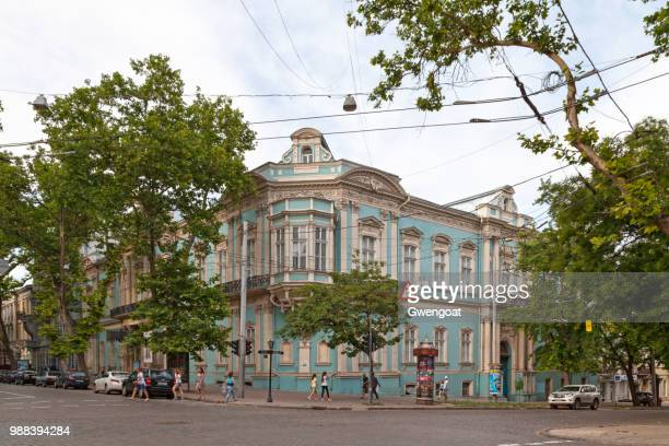 odessa museum of western and eastern art is a museum of fine arts - gwengoat stock pictures, royalty-free photos & images