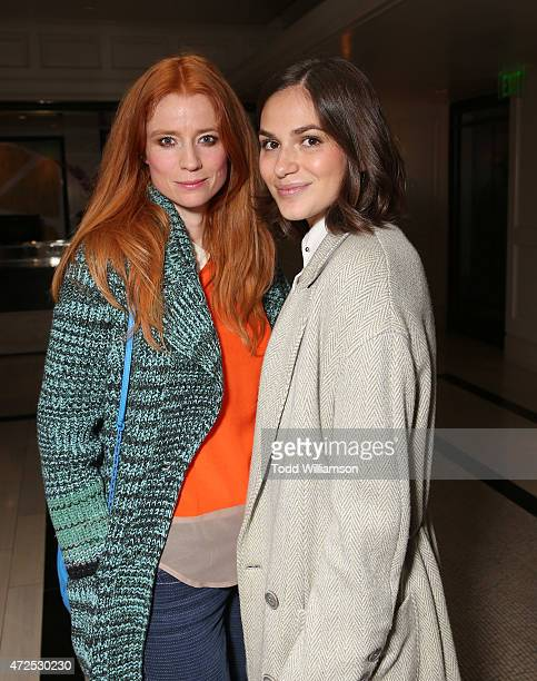 Odessa Rae and Jennifer Missoni attend the I'll See You In My Dreams screening at The London West Hollywood on May 7 2015 in West Hollywood California
