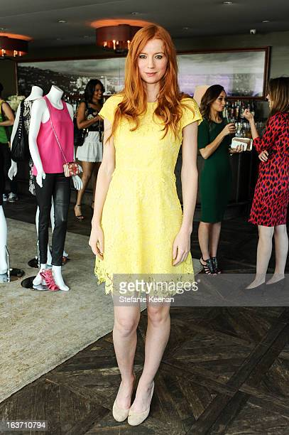 Odessa Rae attends LK Bennett Tea Luncheon on March 14 2013 in West Hollywood California