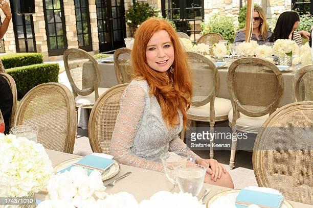 Odessa Rae attends Lorena Sarbu Resort 2014 Luncheon on July 24 2013 in Beverly Hills California