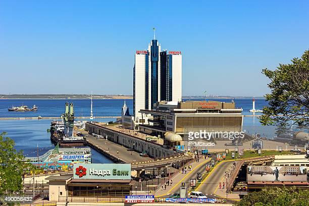 odessa sea port - odessa ukraine stock photos and pictures