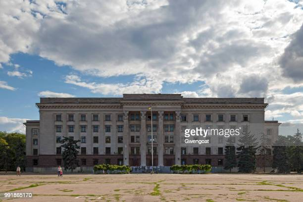 odessa trade unions - gwengoat stock pictures, royalty-free photos & images