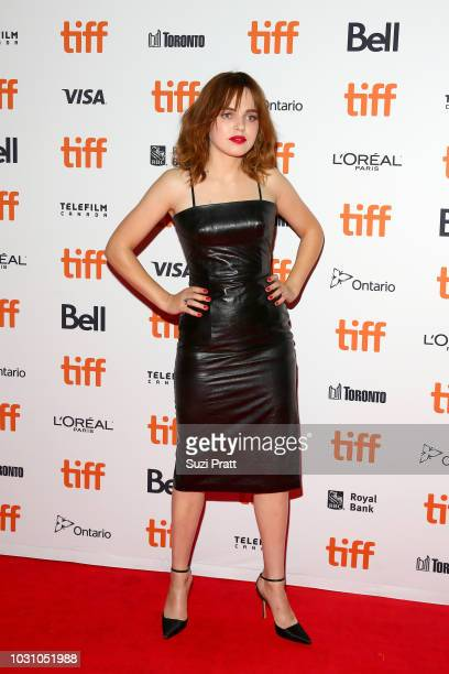 Odessa Young attends the 'A Million Little Pieces' premiere during 2018 Toronto International Film Festival at Ryerson Theatre on September 10 2018...