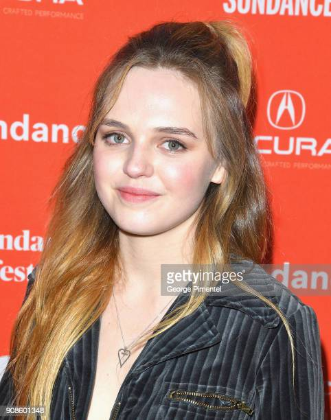 Odessa Young attends the 'Assassination Nation' Premiere during the 2018 Sundance Film Festival at Park City Library on January 21 2018 in Park City...
