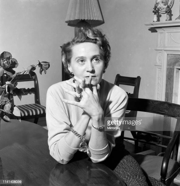 Odette Churchill 6th November 1953