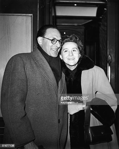Odette Churchill with her second husband Peter Churchill September 1955 The couple met during World War II when they worked together with the French...