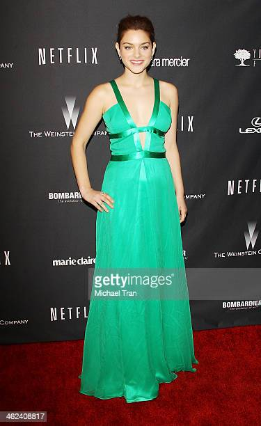 Odeya Rush arrives at The Weinstein Company and NetFlix 2014 Golden Globe Awards after party held on January 12, 2014 in Beverly Hills, California.