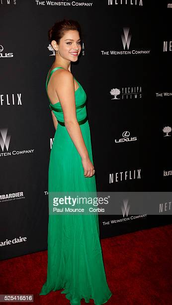 Odeya Rush arrives at the Weinstein Company Golden Globes AfterParty