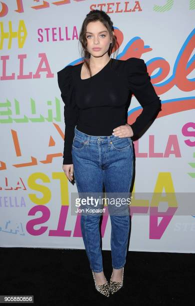 Odeya Rush attends Stella McCartney's Autumn 2018 Collection Launch on January 16 2018 in Los Angeles California