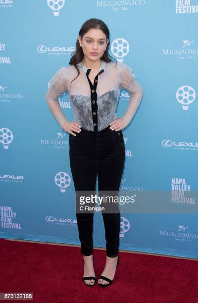 Odeya Rush attends the 'Rising Star Showcase' during the 7th Annual Napa Valley Film Festival on November 11 2017 in Napa California