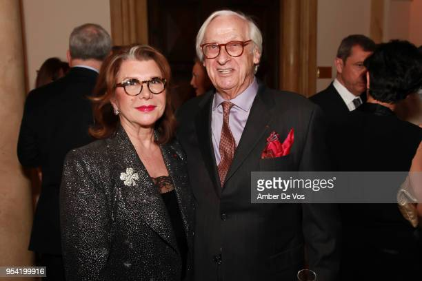 Odile Longchamp and Michel Longchamp attend the Launch of the Paris Opera 350th Anniversary in New York with the American Friends of the Paris Opera...