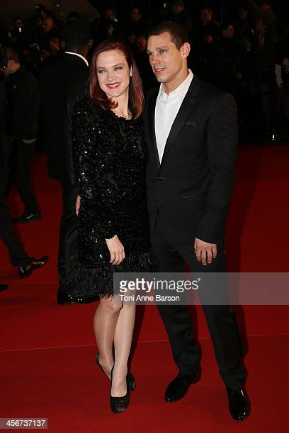 Odile Vuillemin arrives at the 15th NRJ Music Awards at the Palais des Festivals on December 14 2013 in Cannes France