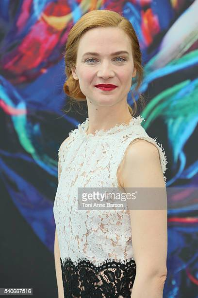 Odile Vuillemin attends 'L'Emprise' Photocall as part of the 56th Monte Carlo TV Festival at the Grimaldi Forum on June 16 2016 in MonteCarlo Monaco