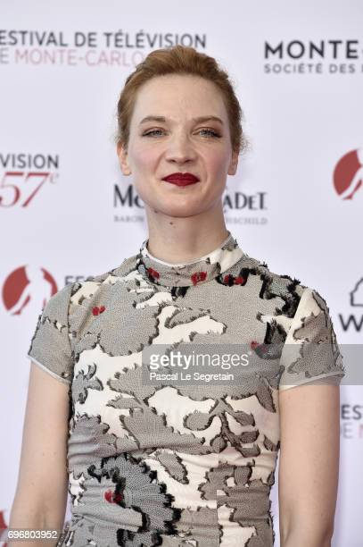 Odile Vuillemin attends the 57th Monte Carlo TV Festival Opening Ceremony on June 16 2017 in MonteCarlo Monaco
