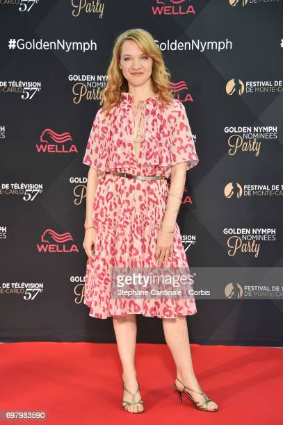 Odile Vuillemin attends the Golden Nymph Nominees Party at the MonteCarlo Bay Hotel on June 19 2017 in MonteCarlo Monaco