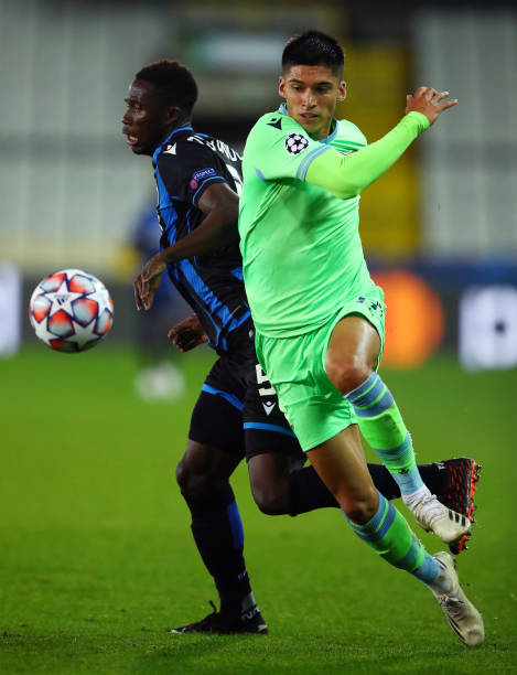 BEL: Club Brugge KV v SS Lazio: Group F - UEFA Champions League
