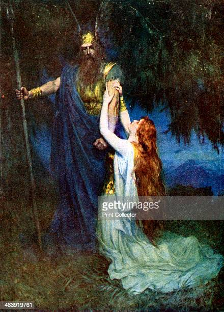 Odin and Brunhilde Act 3 from Richard Wagner's opera The Valkyrie