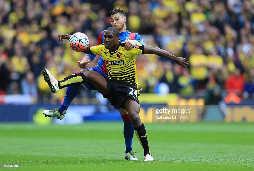 Watford v Crystal Palace - The Emirates FA Cup Semi Final : News Photo