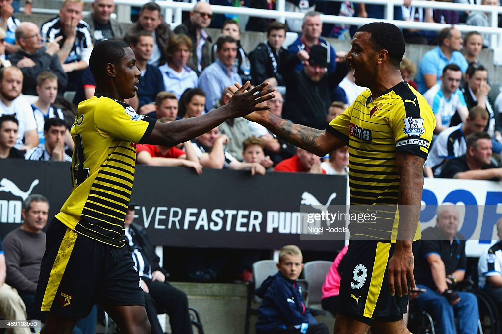 Newcastle United v Watford - Premier League : ニュース写真