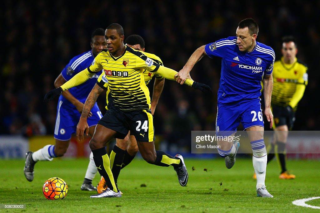 Watford v Chelsea - Premier League : Nyhetsfoto