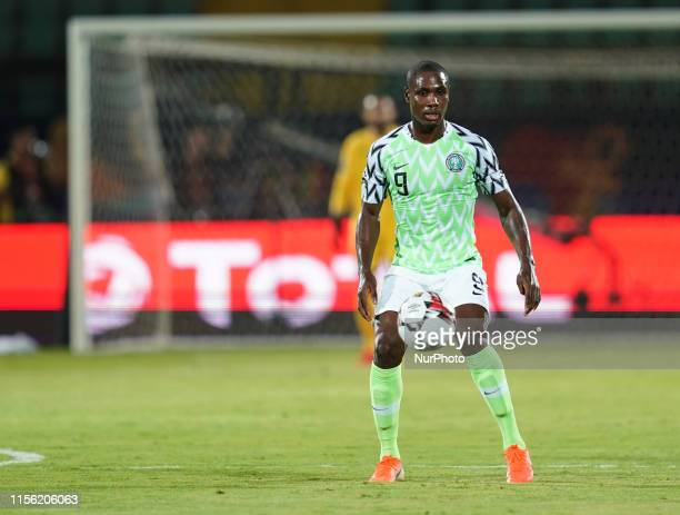 Odion Jude Ighalo of Nigeria during the 2019 African Cup of Nations match between Tunisia and Nigeria at the Al Salam Stadium in Cairo, Egypt on July...