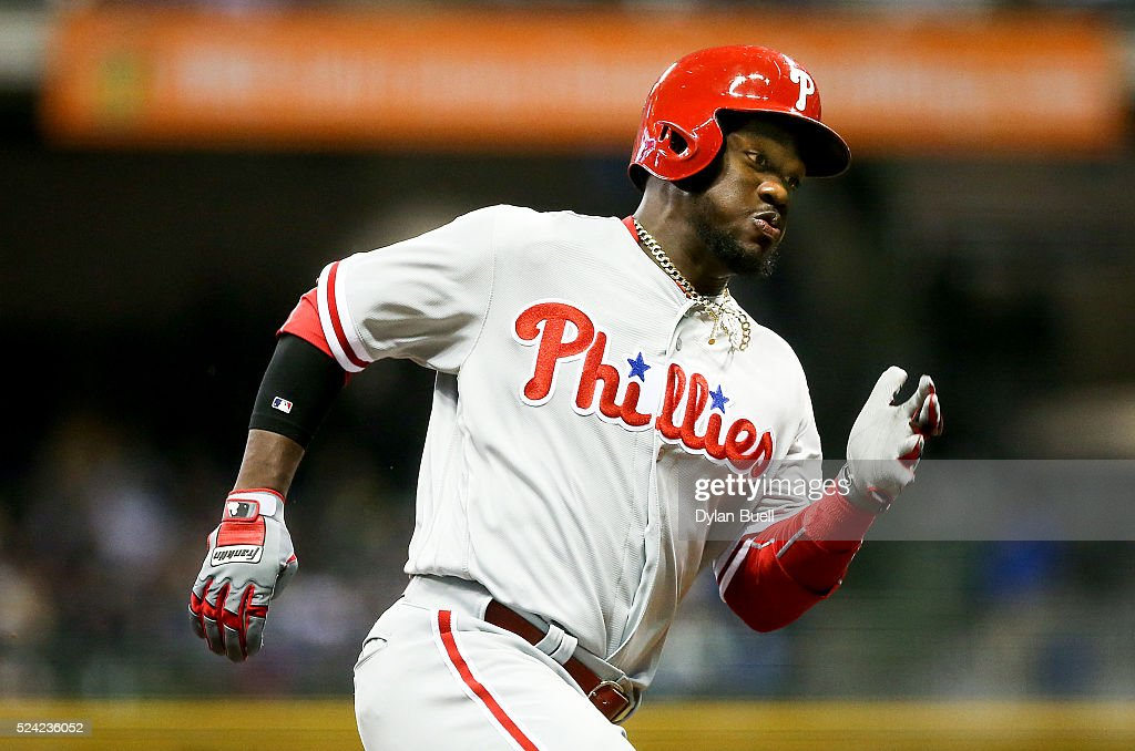Philadelphia Phillies v Milwaukee Brewers : News Photo
