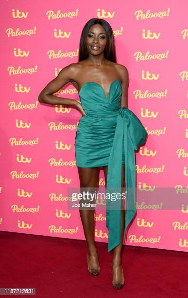 Odudu attends the ITV Palooza 2019 at The Royal Festival Hall on November 12, 2019 in London, England.
