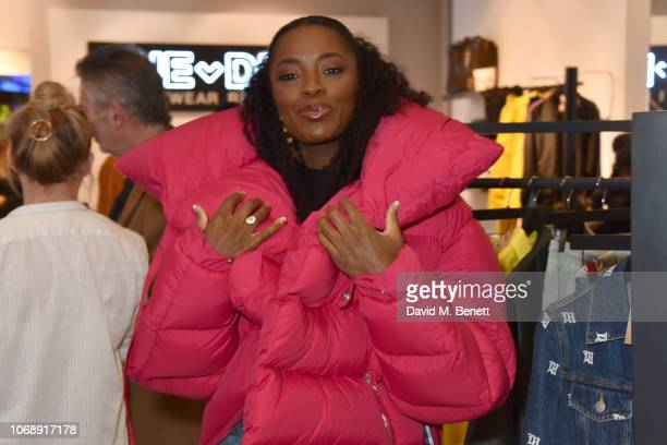 Odudu attends the opening of 'The Drop' the UK's first streetwear rental space with all profits going towards Save the Children's Big Up Uganda...