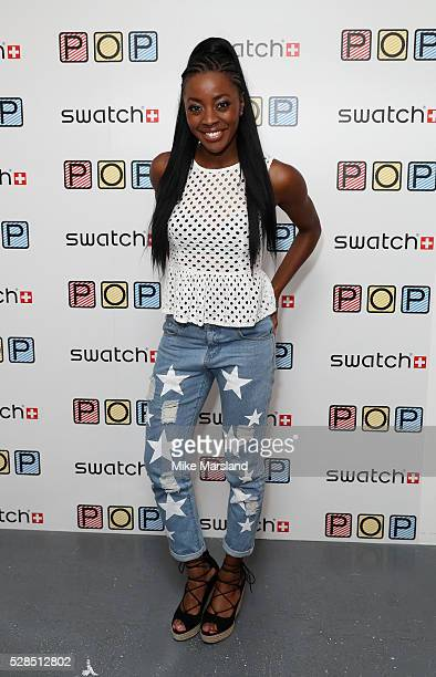 Odudu attends the Swatch Pop It Up Event at Noho Studios on May 5 2016 in London England