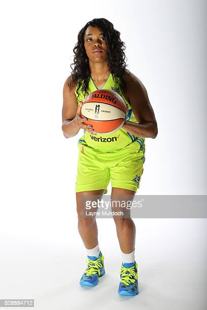 Odyssey Sims of the Dallas Wings poses for a portrait during WNBA Media Day on May 5 2016 at College Park Center in Arlington Texas NOTE TO USER User...