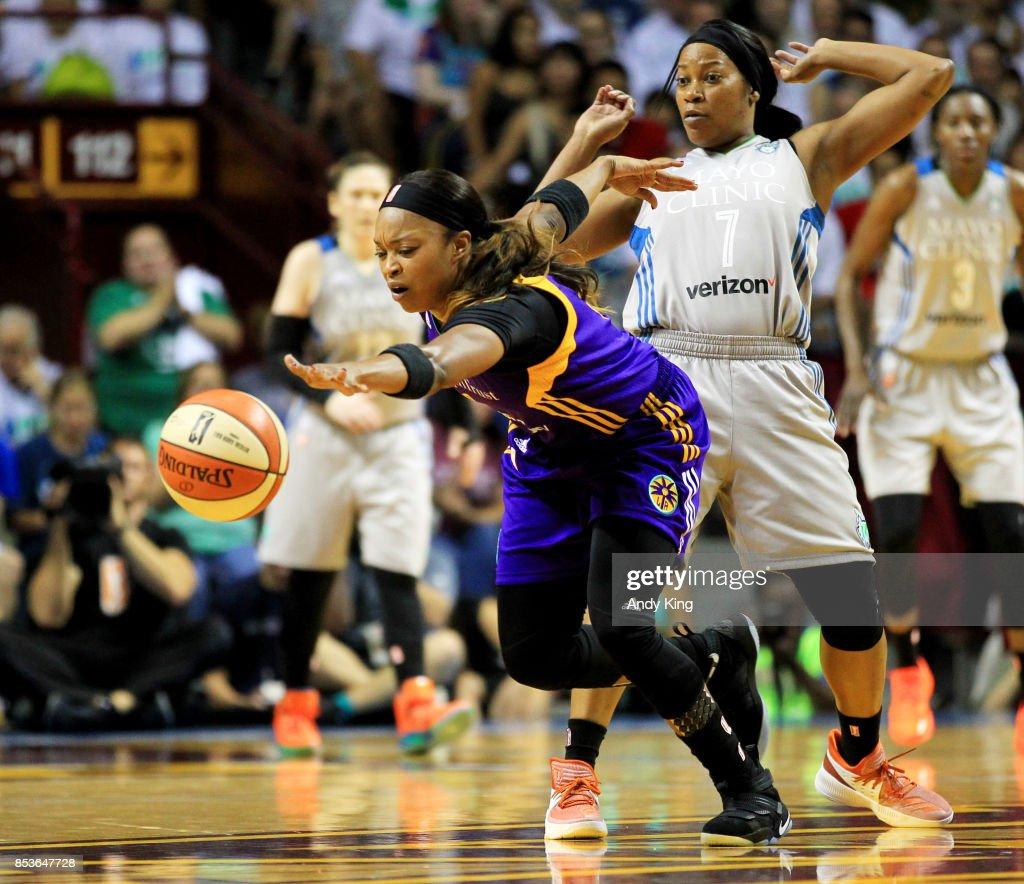WNBA Finals - Game One