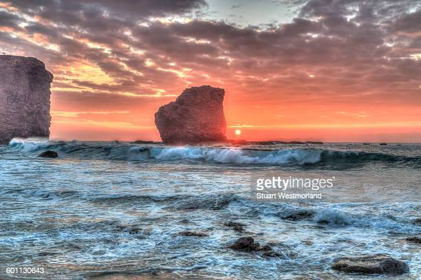 oean sunrise - lanai stock photos and pictures