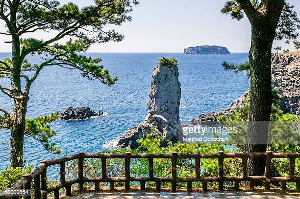Oedolgae Rock Jeju Island