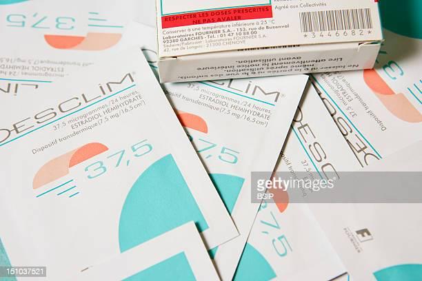 Oesclim Transdermal Patch Containing Estradiol