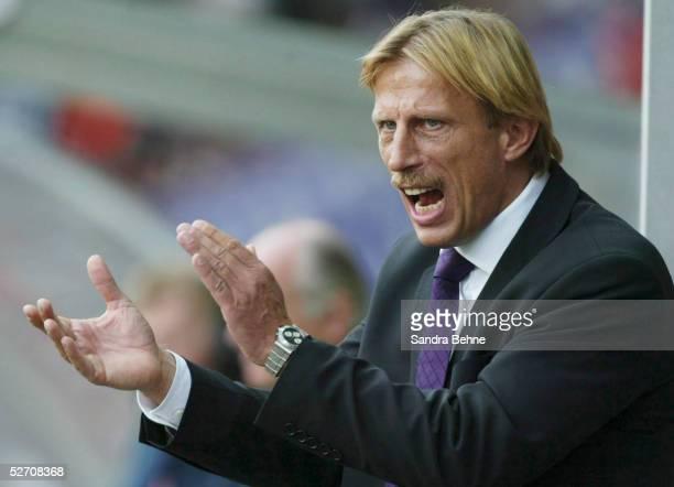 Oesterreichische Liga 02/03 Graz; GRAZER AK - AUSTRIA WIEN; Trainer Christoph DAUM/Austria Wien