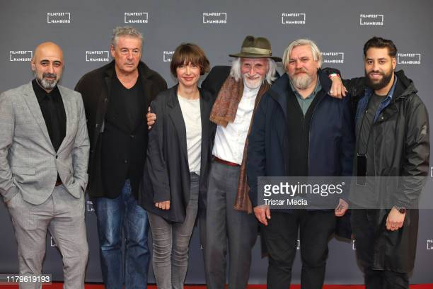 Oezguer Karadeniz Markus Imboden Julia Koschitz Heiner Stadelmann Aljoscha Stadelmann and Walid AlAtiyat attend the Film Festival Hamburg 2019 on...