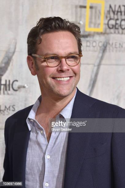 """Of 21st Century Fox James Murdoch attends the New York City premiere of National Geographic Documentary Films' """"Free Solo"""" at Jazz at Lincoln Center..."""