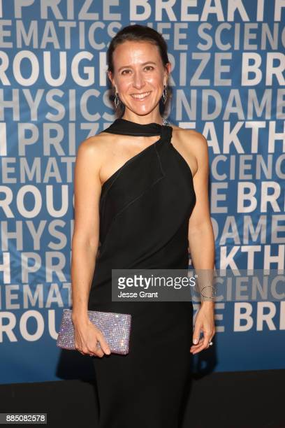 CEO of 23andMe Anne Wojcicki attends the 2018 Breakthrough Prize at NASA Ames Research Center on December 3 2017 in Mountain View California