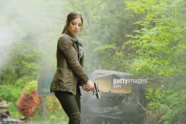 DEFIANCE Of a Demon in My View Episode 311 Pictured Anna Hopkins as Jessica Berlin Rainer