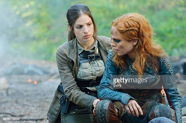 DEFIANCE Of a Demon in My View Episode 311 Pictured Anna Hopkins as Jessica Berlin Rainer Stephanie Leonidas as Irisa Nolan