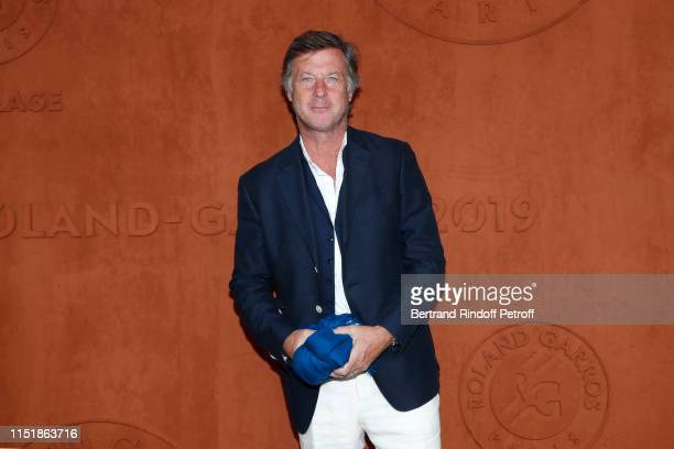 CEO of Accor Sebastien Bazin attends the 2019 French Tennis Open Day One at Roland Garros on May 26 2019 in Paris France