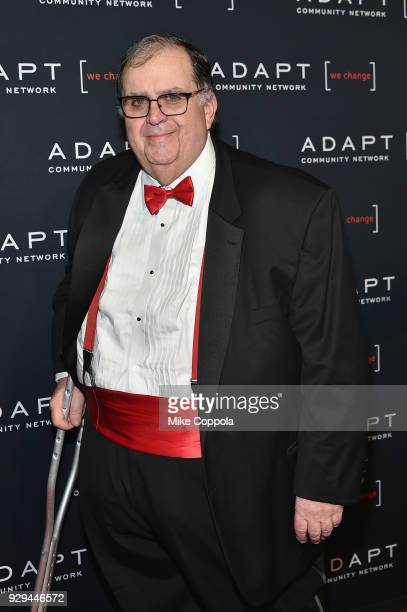 CEO of ADAPT Community Network Edward R Matthews attends the Adapt Leadership Awards Gala 2018 at Cipriani 42nd Street on March 8 2018 in New York...