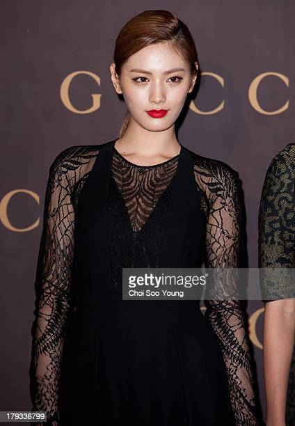 NANA of After School attends the GUCCI 'House of Artisan' at GUCCI Cheongdam flagship store on August 30 2013 in Seoul South Korea