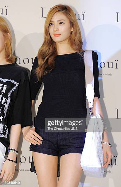 NANA of After School attends the 'L'inoui' Lotte department store opening on August 31 2013 in Seoul South Korea