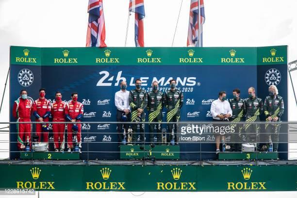 Of Alessandro PIER GUIDI , James CALADO , Daniel SERRA and ASTON MARTIN RACING, ASTON MARTIN VANTAGE AMR of Maxime MARTIN , Alex LYNN , Harry...