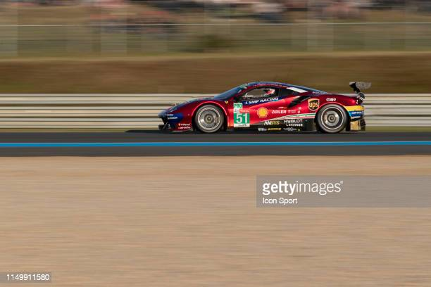 EVO of Alessandro PIER GUIDI James CALADO Daniel SERRA during the 24h du Mans on June 13 2019 in Le Mans France